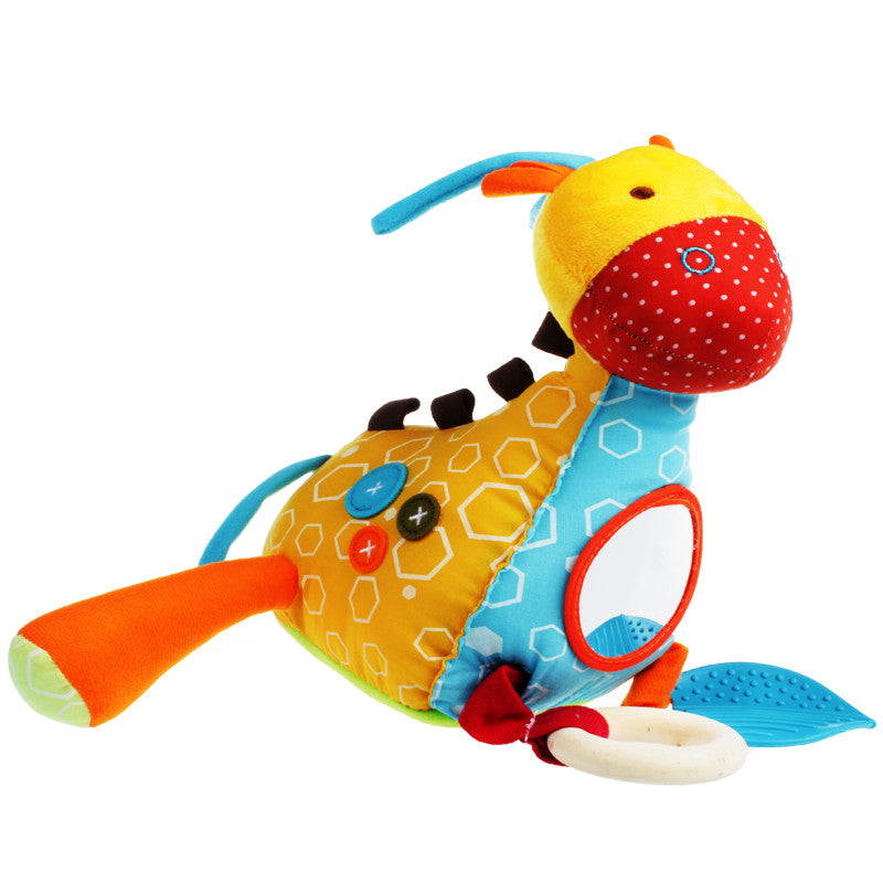 Lovely Animal Style Deer Baby Rattle Toy
