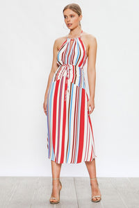 Striped Midi Dress - Style Envy Boutique