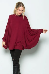 Treasure  Poncho Dress - Style Envy Boutique