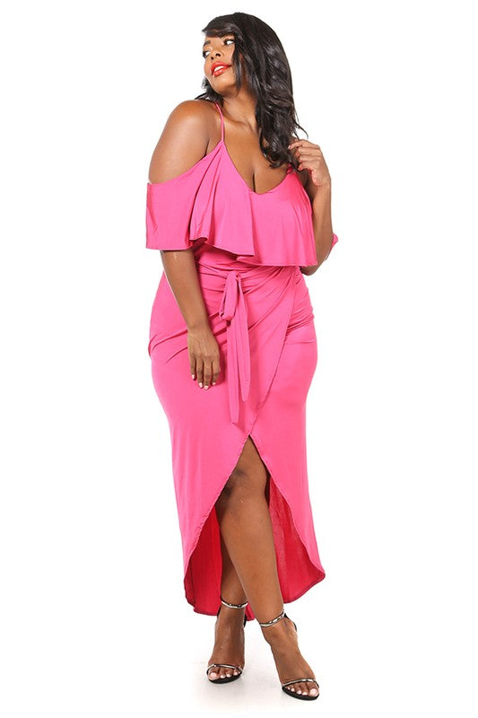 Mary Faux Wrap Dress - Style Envy Boutique