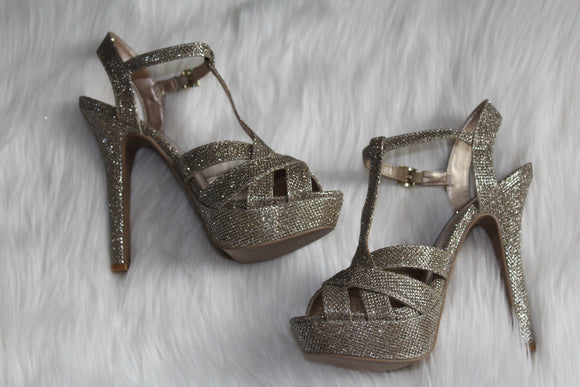 Shimmer Heels - Style Envy Boutique