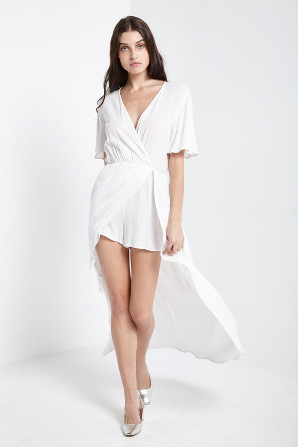 Heather Maxi Romper