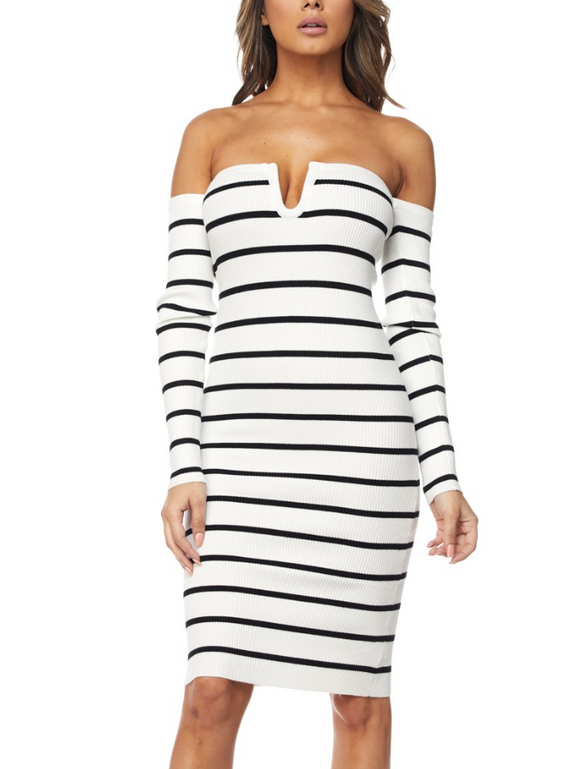 Roxy Stripe Dress - Style Envy Boutique