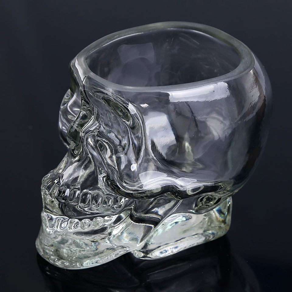 Full Skull Shot Glass Cup