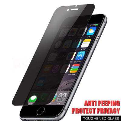 9H ANTI SPY PRIVACY TEMPERED GLASS - IPHONE