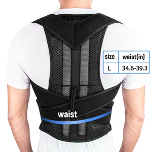 Back Support Belt - Mesh Posture Corrector