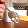 Stainless Steel Skull Sugar Spoon