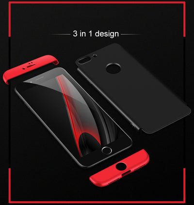 3 in 1 Anti-Shock iPhone Case