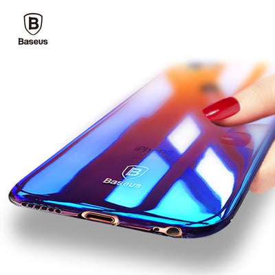 BASEUS - Aurora Gradient Transparent IPhone Case