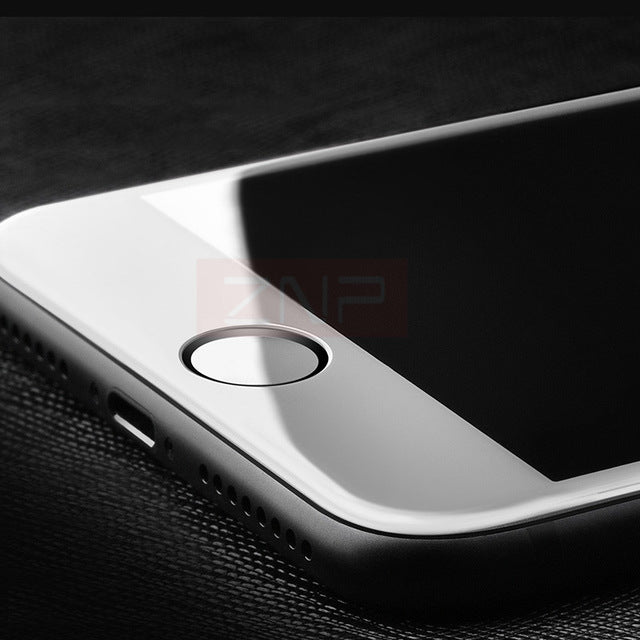Soft edge Full Tempered Glass For iPhone