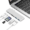 USB-C Hub 3.0 Adapter Combo designed for MacBook Pro 2016/2017