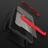 3 in 1  iPhone X Case with Tempered Glass