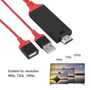 HDMI Cable Digital AV Adapter for IOS & Android