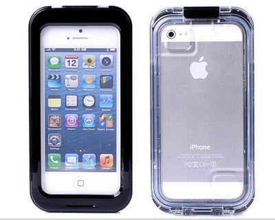 Durable Waterproof Protective iPhone Case 4/4S, 5/5S/5SE/5C, 6/6 Plus, 6S/6S Plus, & 7/7 Plus