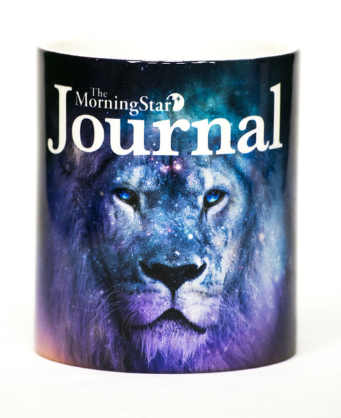 MorningStar Journal Lion Mug