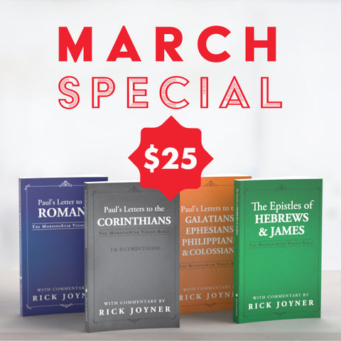 March Monthly Special - 2021