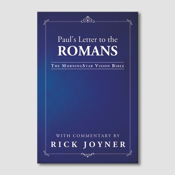 Paul's Letter to the Romans (MorningStar Vision Bible)