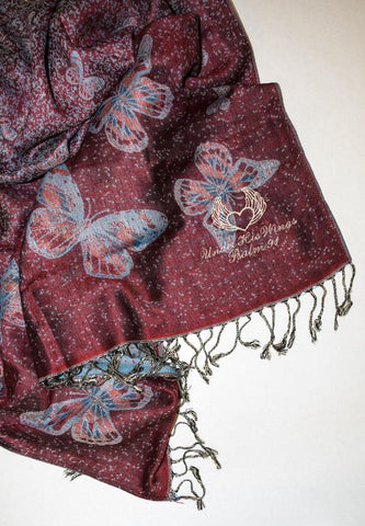 """Under His Wings"" Scripture Scarf MorningStar Ministries"