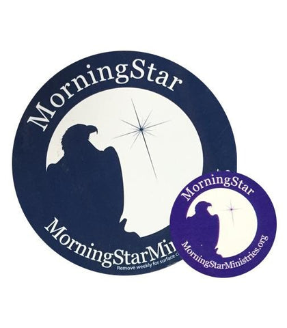 MorningStar Fridge Magnet & Gas Cap Bundle MorningStar Ministries