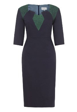 Maisie dress - navy