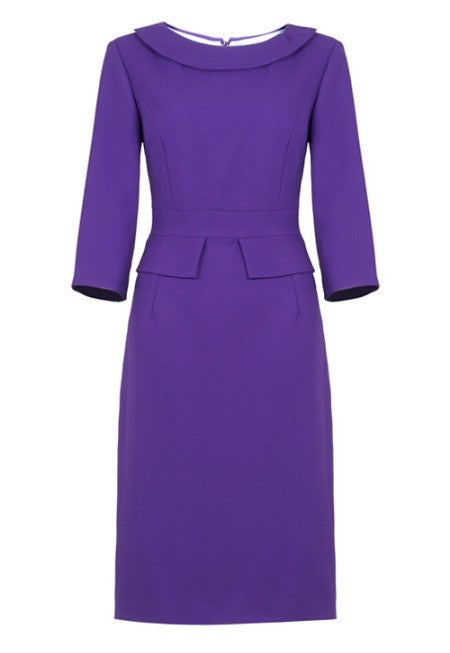 Bronte dress - purple