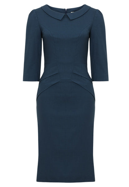 Scarlett dress - cool blue