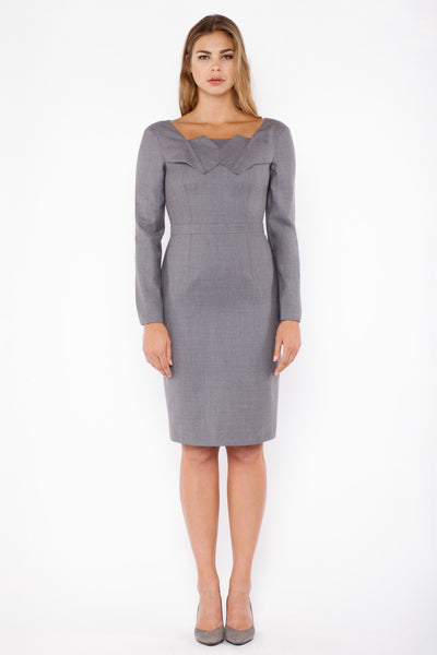 Gallia dress - grey