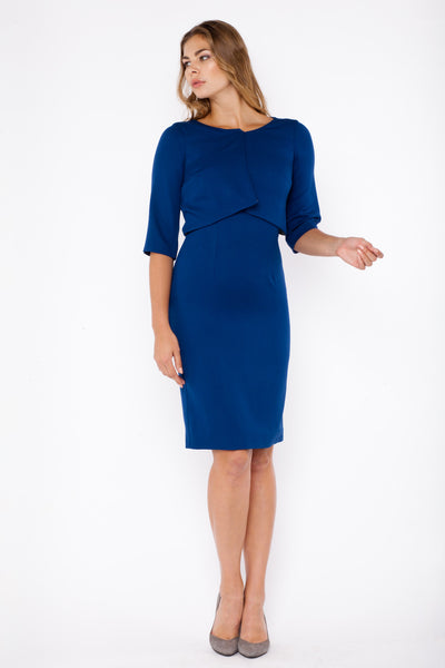 Athena dress - blue
