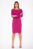Gallia three quarter sleeve - pink
