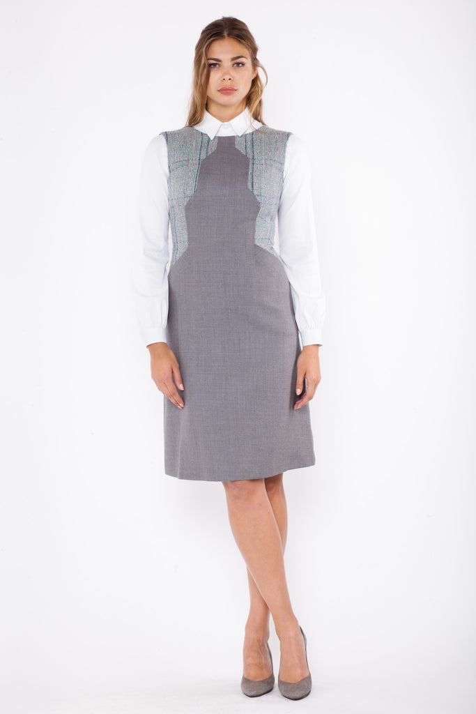 Colette - grey and tweed