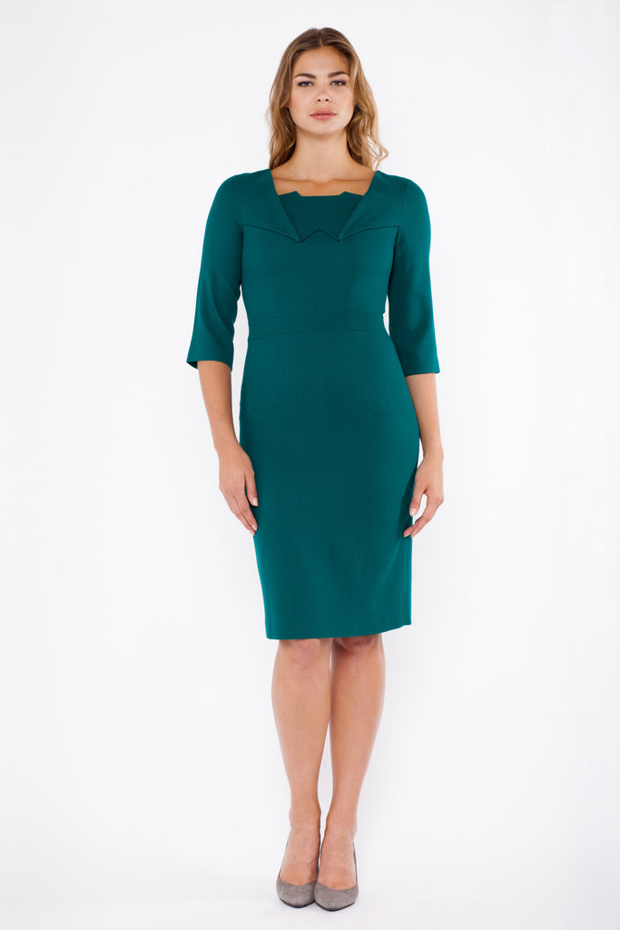 Gallia dress - green