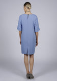 Pocket dress - blue