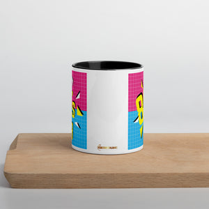 80s Baby Mug with Color Inside