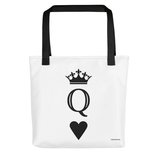QUEEN: All-Over Print Tote