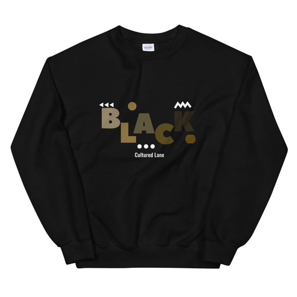 Shades of Black Sweatshirt