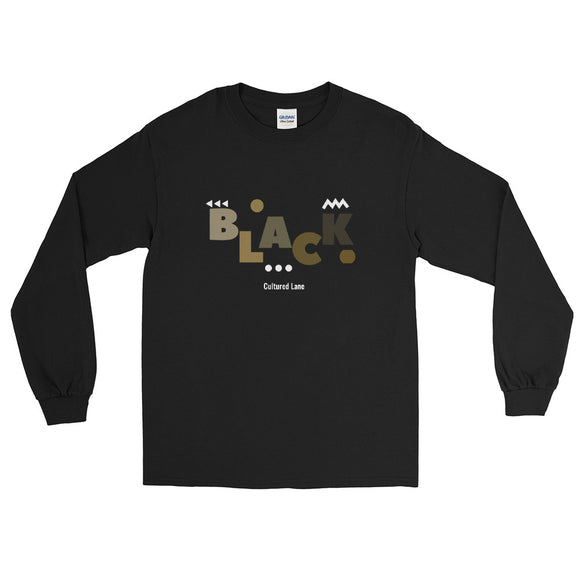 Shades of Black: Long Sleeve T-Shirt