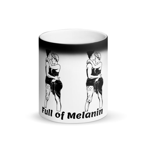 Cup of Melanin II: Matte Black Magic Mug