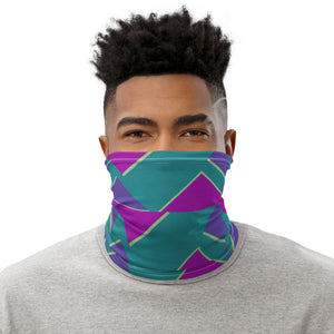 Geometric: Neck gaiter