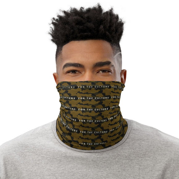 For the Culture: Neck gaiter