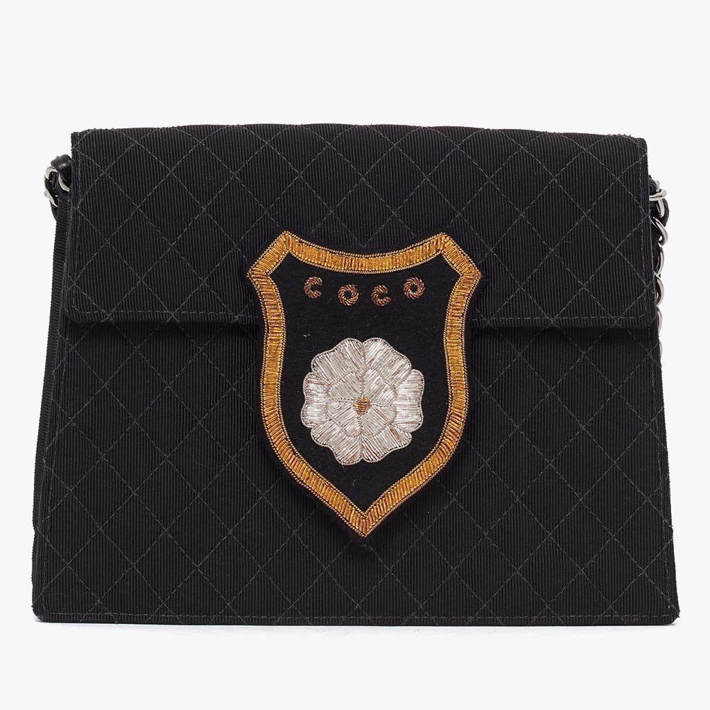 Lost & found: Vintage Chanel Coco badge cross body bag