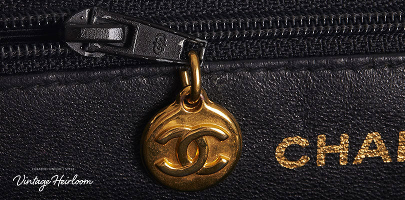 Zips - guide to authenticating Chanel bags