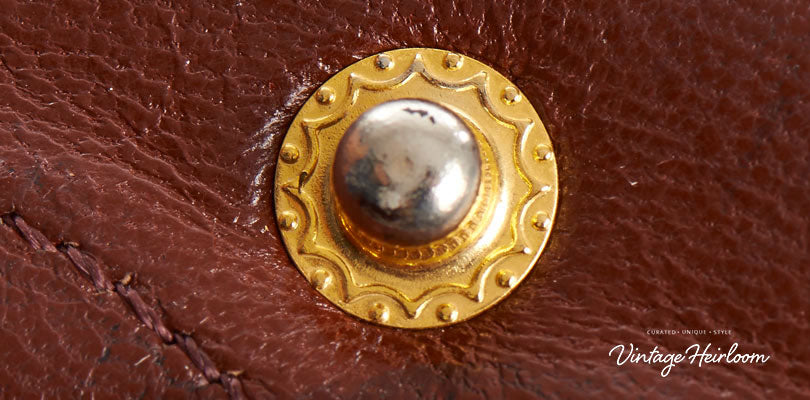 Fig 11. Authentic internal button with decorative detailing