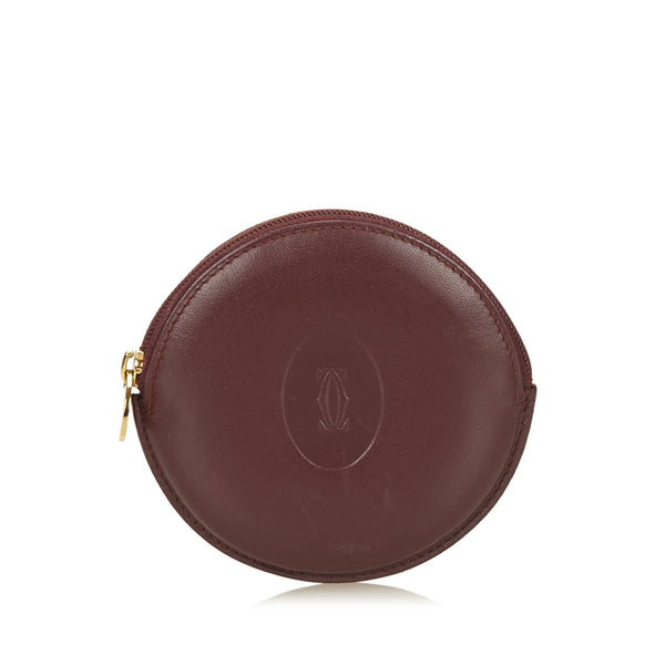 Cartier Must de Cartier Round Coin Case