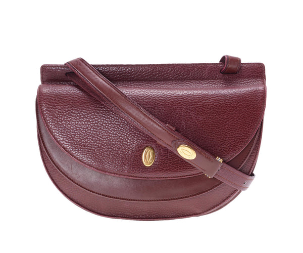 Cartier Bordeaux Must de Cartier Crossbody