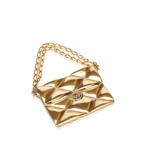 Chanel Quilted Brooch