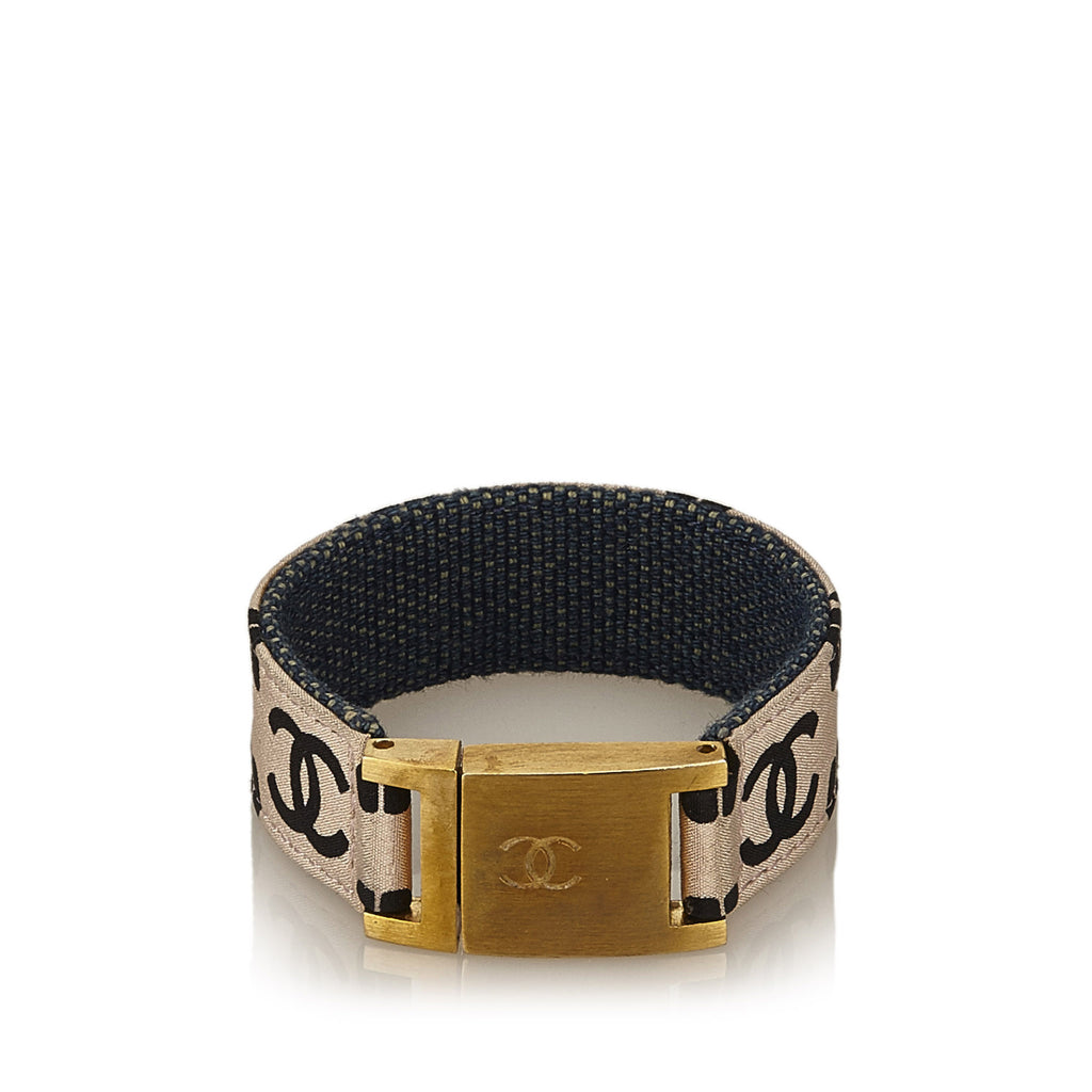 Chanel CC Cotton Bangle