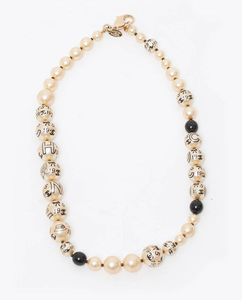 Vintage Chanel 1955 pearl necklace