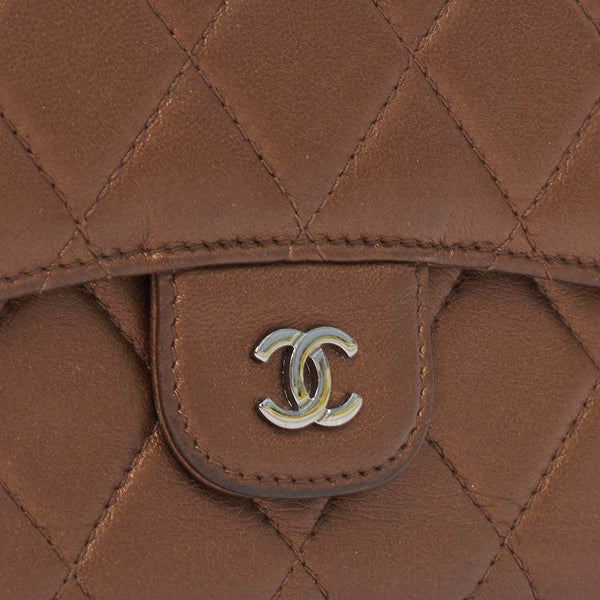 Vintage Chanel classic quilted lambskin wallet