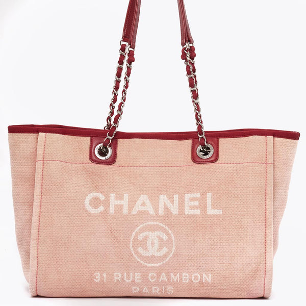 Vintage Chanel large Deauville tote