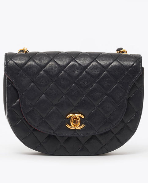 Vintage Chanel mini quilted cross body bag